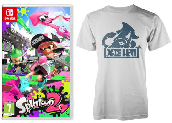 Nintendo UKストアにTシャツ&キャップ付きの『スプラトゥーン2 セット』が登場!