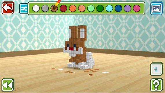彫刻ゲーム『Qbics Paint』がNintendo Switchで発売決定!
