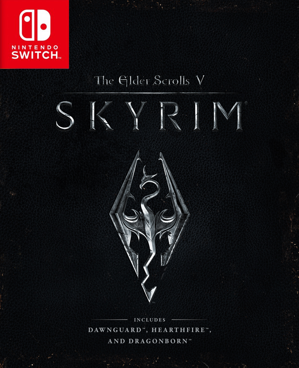 Nintendo Switch版『The Elder Scrolls V:Skyrim』のパッケージが公開!