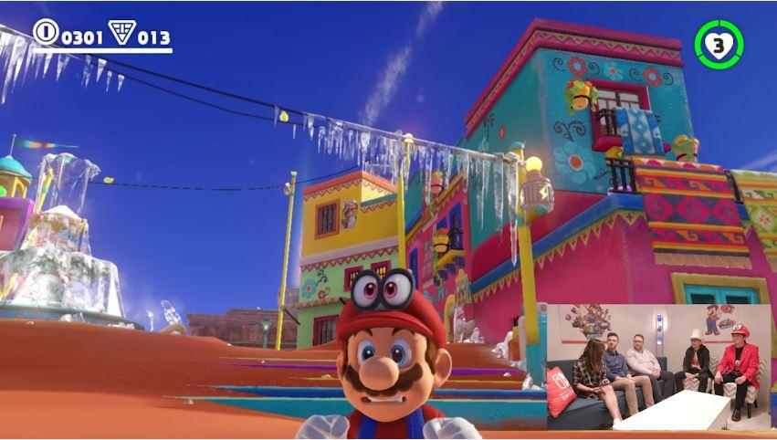『スーパーマリオ オデッセイ』の開発者インタビュー&プレイ動画が公開!【E3 2017】