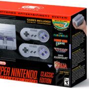 『Super Nintendo Entertainment System Classic Edition』が2017年9月29日に発売決定!
