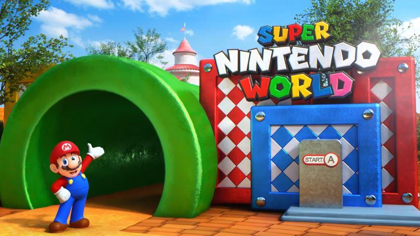 SUPER NINTENDO WORLDのエリアイメージ動画が公開!