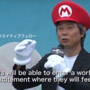 宮本茂さん「(SUPER NINTENDO WORLDの) アトラクションとNintendo Switchとの連動は進めています!」