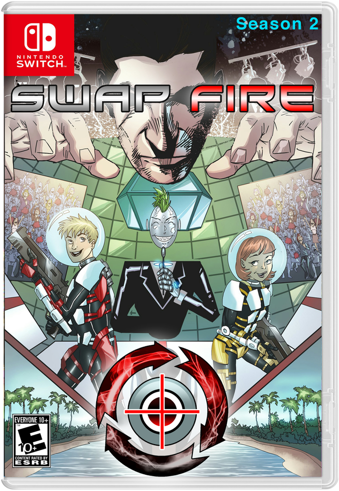 『Swap Fire: Season 2 for Nintendo Switch』のKickstarterキャンペーンが成功しNintendo Switchでの発売が決定!