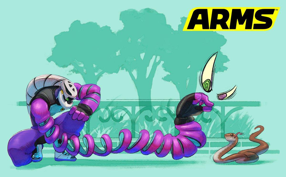 『ARMS』 キッドコブラのアートワークが公開