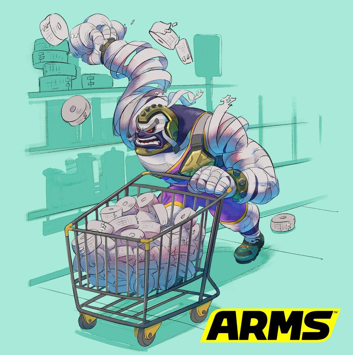 『ARMS』 マスターマミーのアートワークが公開