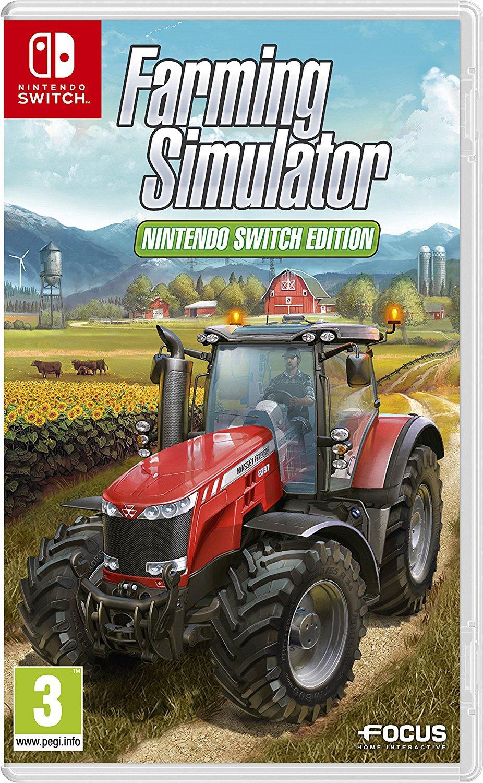 農業シミュレーターゲーム『Farming Simulator: Nintendo Switch Edition』が発売決定!