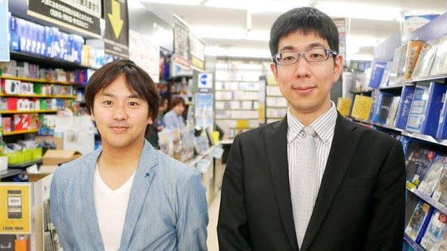 スイッチ入荷と『ドラクエXI』についてゲオのバイヤー武藤氏と海津氏へのインタビューが掲載