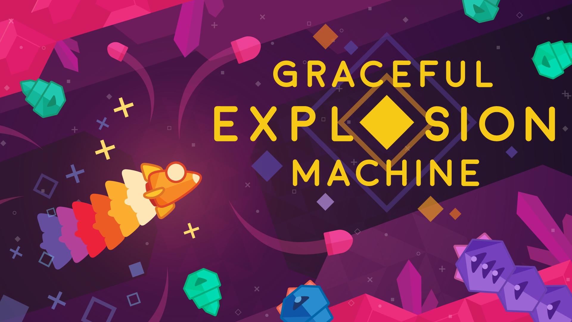 カラフルな横スクロールシューティングゲーム『Graceful Explosion Machine』が今日から配信開始!