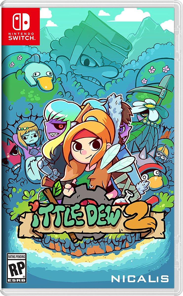 Nintendo Switchで発売される『Ittle Dew 2』のパッケージが公開!