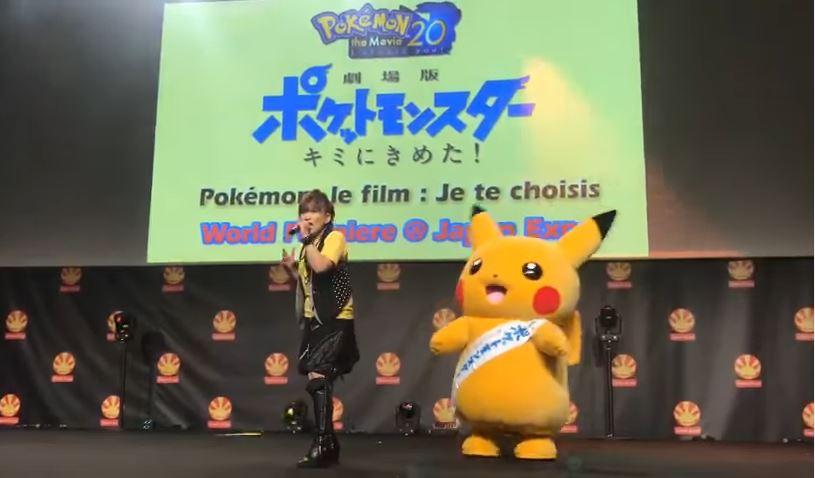 フランスのパリにて開催されているJAPAN EXPOで『ポケモン』のステージイベントが開催!