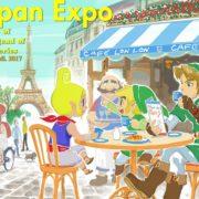 フランスのパリにて開催されるJAPAN EXPOに向けて『ゼルダの伝説』のイラストが公開!