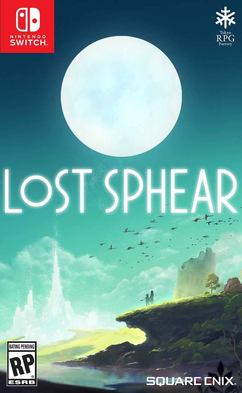 『LOST SPHEAR(ロストスフィア)』の北米版パッケージが公開!