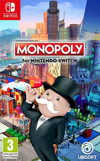 『モノポリー for Nintendo Switch』の海外パッケージが公開!