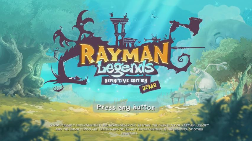 『Rayman Legends Definitive Edition』の体験版がヨーロッパのeショップで配信開始!