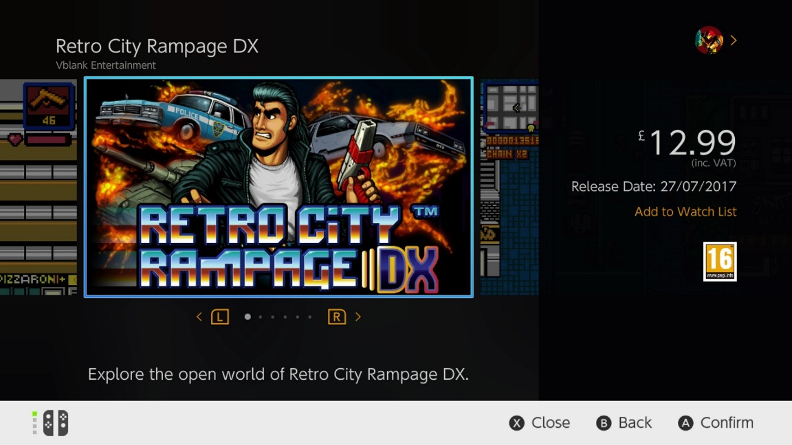 GTA風の8bitオープンワールド・アクションゲーム『Retro City Rampage DX』がNintendo Switchで発売へ!