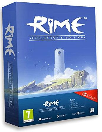 スペインのAmazonでは豪華特典の付いた『Rime – Collector's Edition』が限定発売