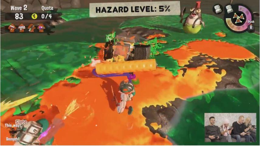 『スプラトゥーン2』のサーモンランプレイ動画が米任天堂から公開!【Nintendo Minute】