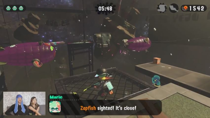 「Splatoon 2 Single Player Mode Gameplay – Nintendo Minute」が米任天堂から公開