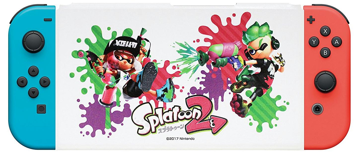 マックスゲームズから『Nintendo Switch専用スタンド付きカバー スプラトゥーン2』が発売決定!