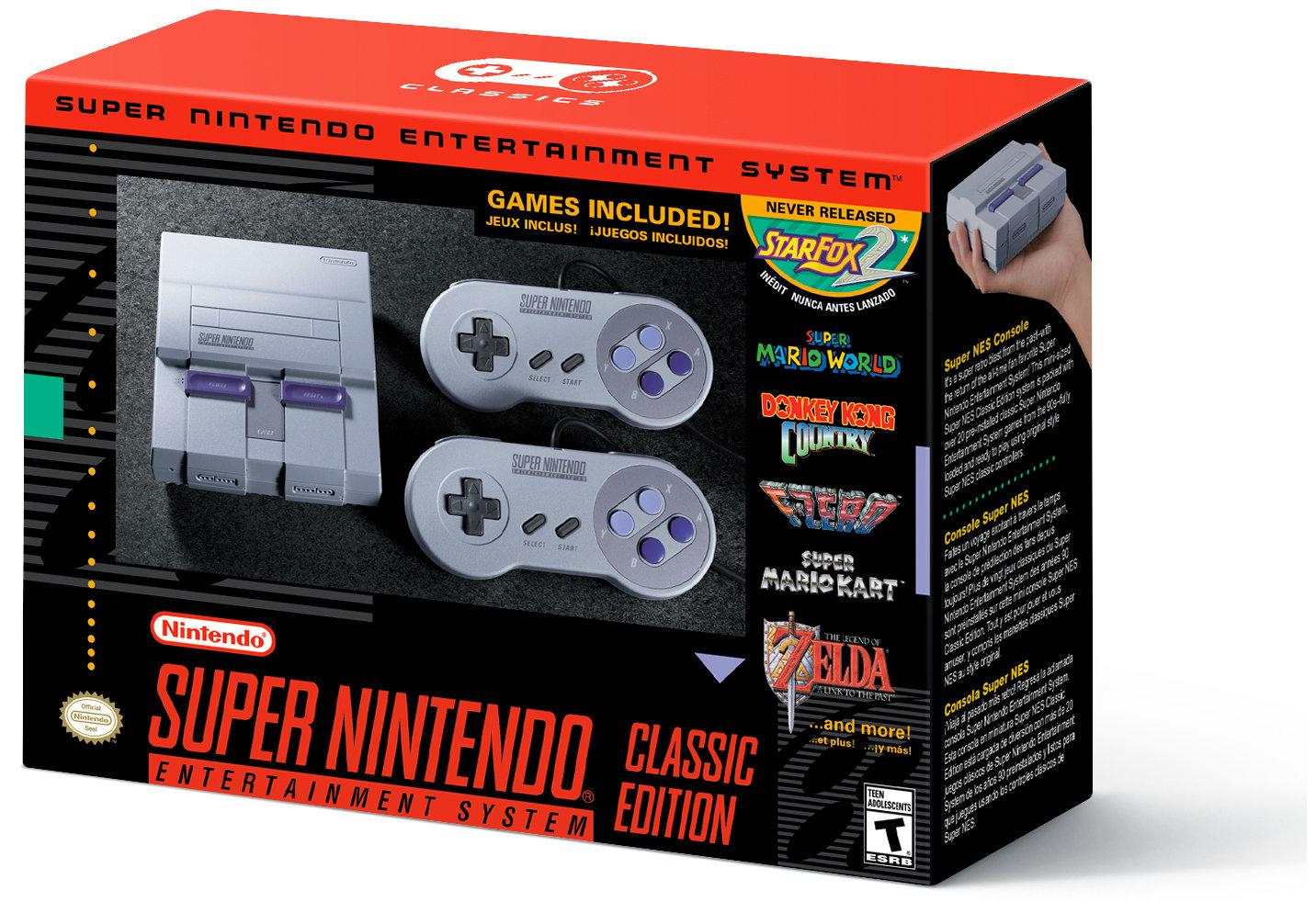 Walmartで『Super NES Classic Edition』の予約が開始もキャンセルへ!