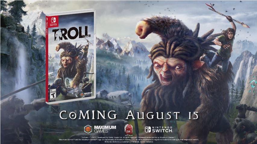 Nintendo Switch版『TROLL AND I』の海外発売日が2017年8月15日に決定!