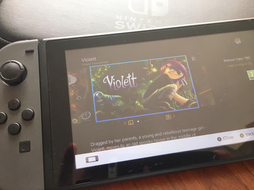 2.5Dの幻想的なアドベンチャーゲーム『Violett』がNintendo Switchで発売決定!