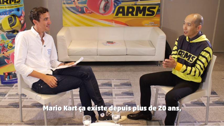 Norman Geniusさんによる『ARMS』のプロデューサー矢吹光佑さんへのインタビュー動画が公開!