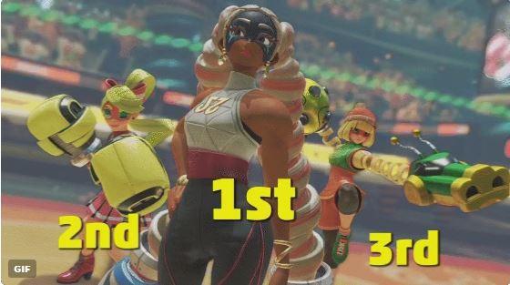 【8月27日】『ARMS』 勝率1位~3位のキャラクターが発表!