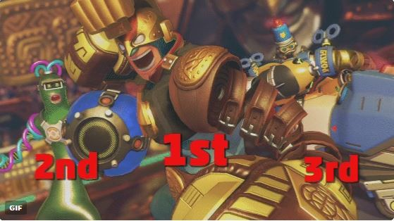 【8月29日】『ARMS』 上位3%の超上級者のみで集計した「勝率1位~3位」のキャラクターが発表!