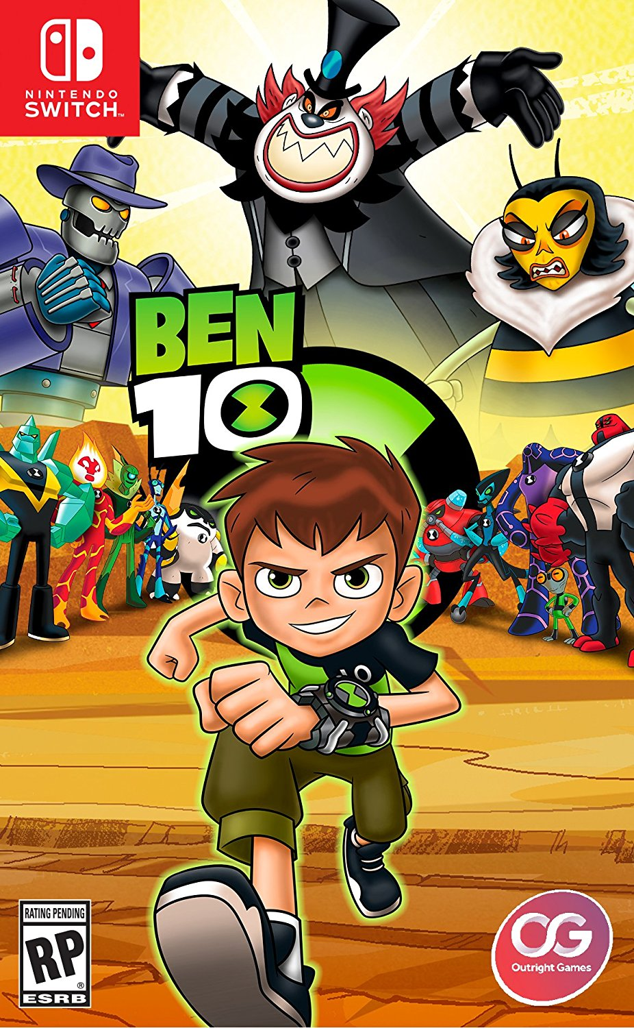 Ben 10 ben 10 nintendo switch edition voltagebd Gallery