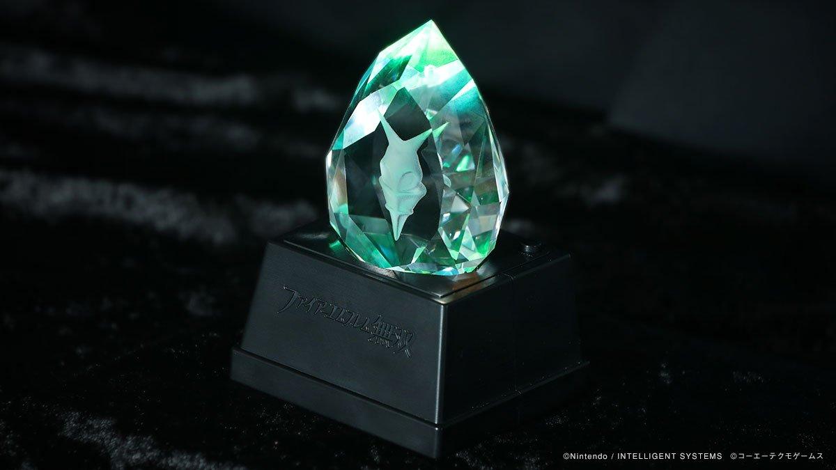 『ファイアーエムブレム無双』のTREASURE BOXに同梱される「竜石」クリスタルのサンプルボイスが公開!