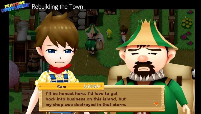 Nintendo Switchで発売される『Harvest Moon: Light of Hope』のFeature Spotlights #1が公開!