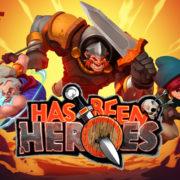 2DローグライクアクションRPG『Has-Been Heroes』が今日から配信開始!