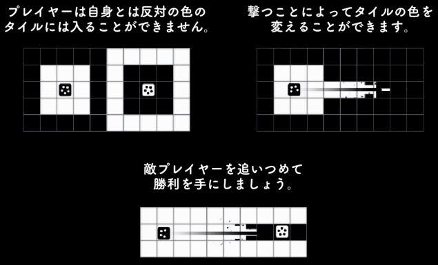 2Dシューティングゲーム『INVERSUS』がNintendo Switchで2017年秋に発売決定!
