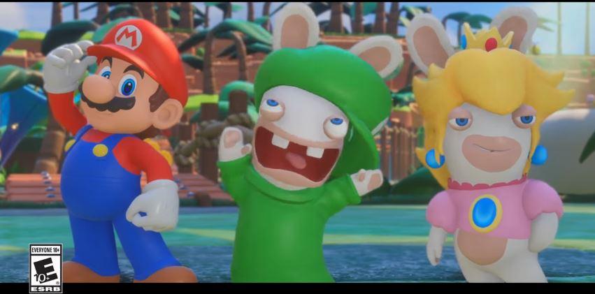 『マリオ+ラビッツ キングダムバトル』のRabbid Luigi Character Spotlightが公開!