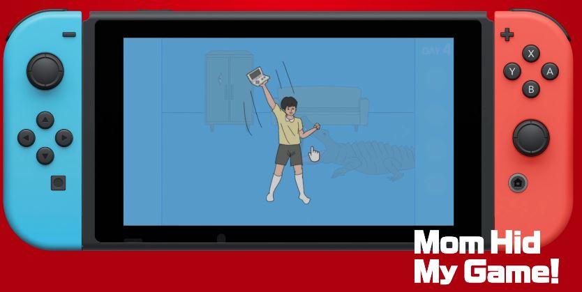 『Mom Hid My Game (ママにゲーム隠された)』がNintendo Switchで発売決定!