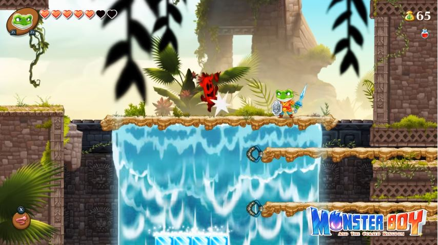 『Monster Boy and the Cursed Kingdom』の短いプレイ動画が8月16日に公開!