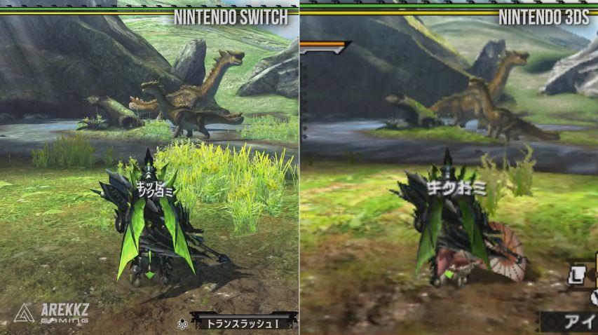 『モンスターハンターダブルクロス Nintendo Switch Ver.』のグラフィック比較動画が公開!