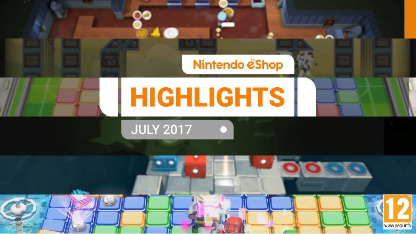 『Nintendo eShopハイライト 2017年7月』がNintendo UKから公開