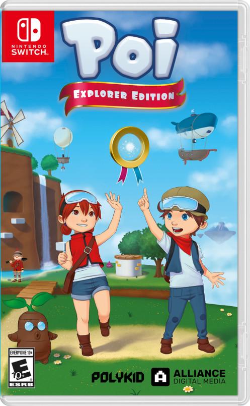 3Dアクションゲーム『Poi』のパッケージ版が海外で発売決定!