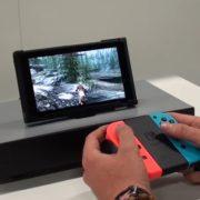 【動画追加】Nintendo Switch版『The Elder Scrolls V:Skyrim』の実機プレイ動画がgamescomで公開!