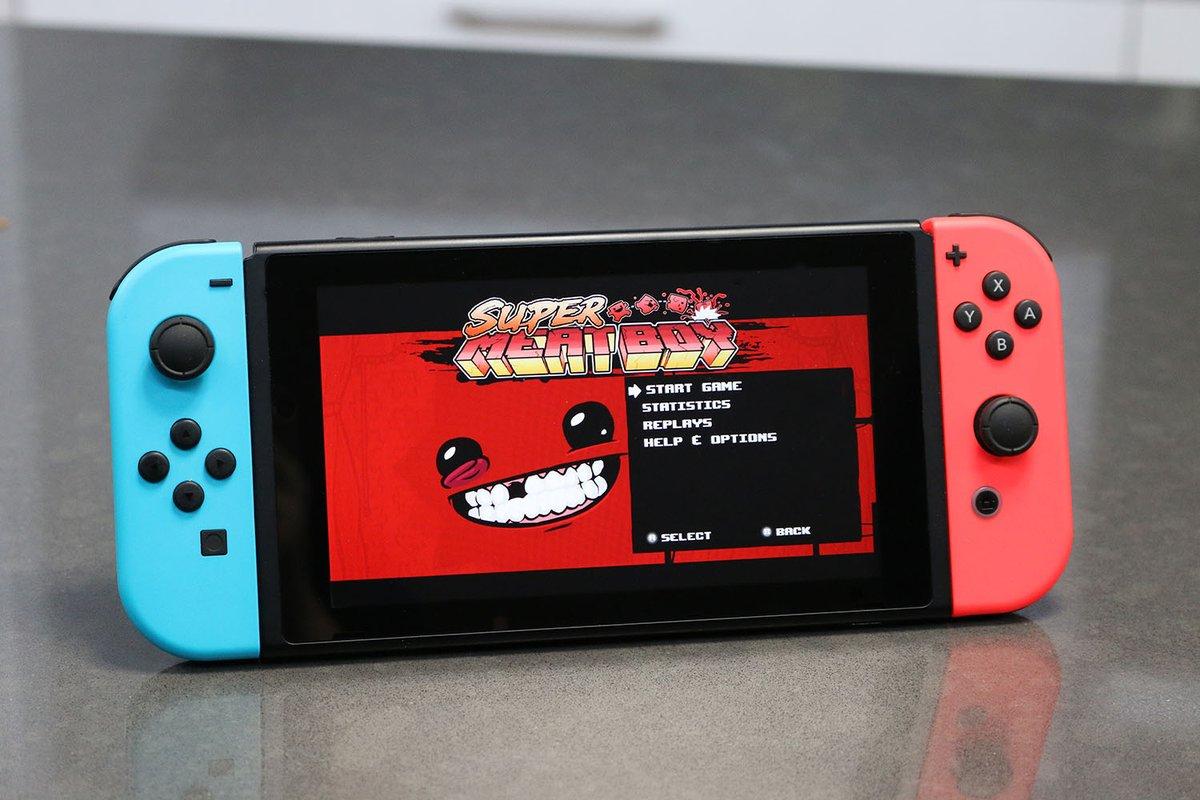 肉塊のようなキャラが主人公の2Dアクションゲーム『Super Meat Boy』がNintendo Switchで発売決定!