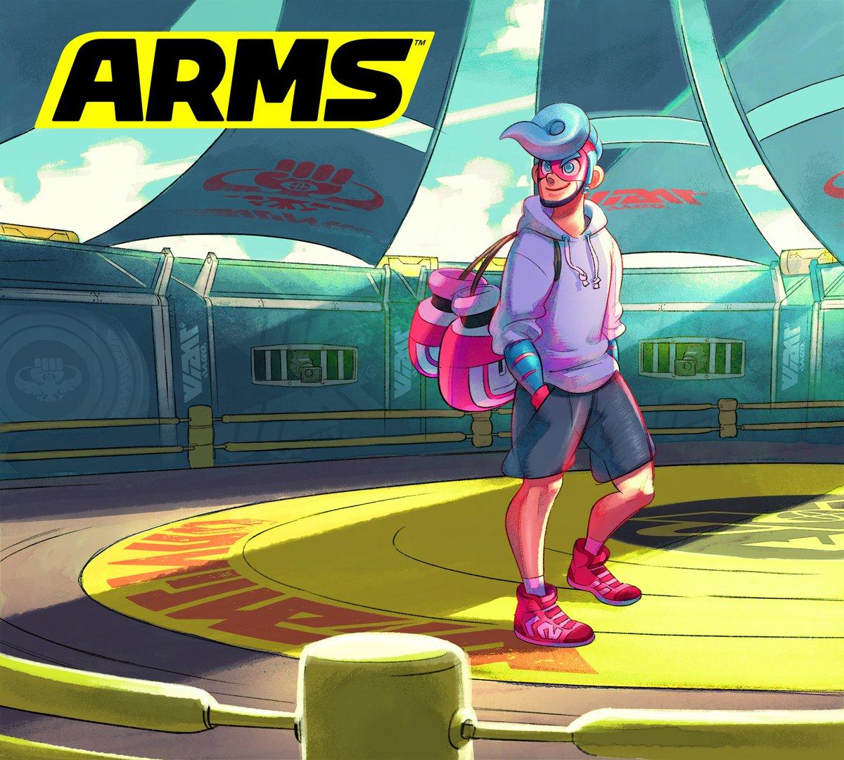 『ARMS』の更新データVer. 3.1.0が9月29日から配信開始!