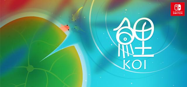 Nintendo Switch用ソフト『鯉 – KOI』の紹介映像が公開!