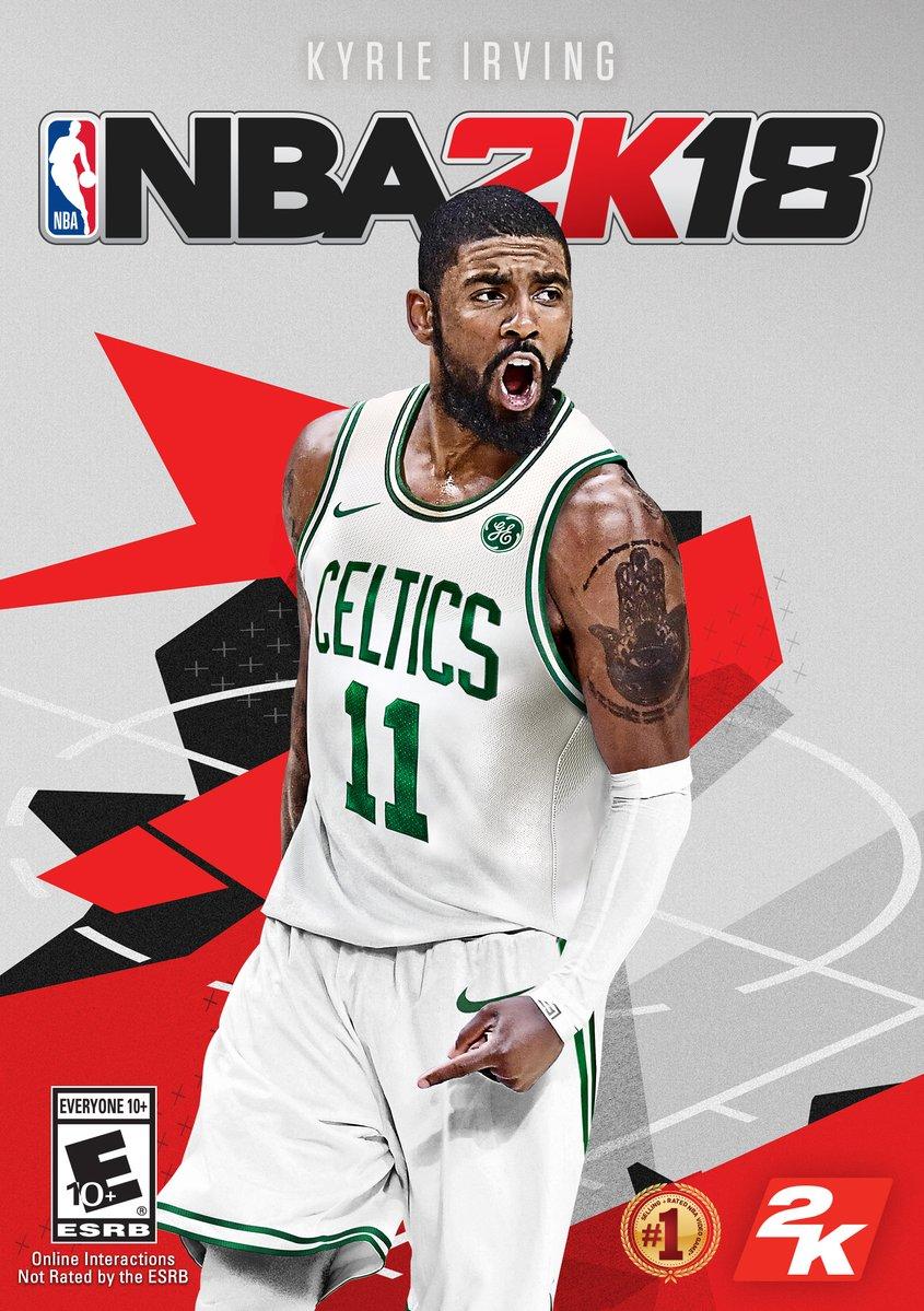 『NBA 2K18』の新しいパッケージデザインが公開!
