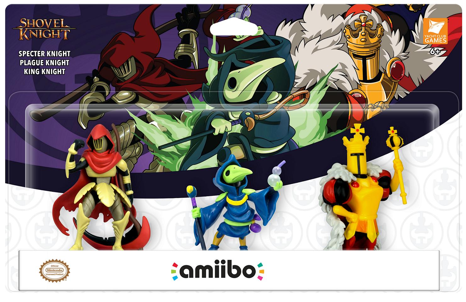 【Nintendo Nindies@Night】『ショベルナイト』の新しいamiiboなどの詳細が発表