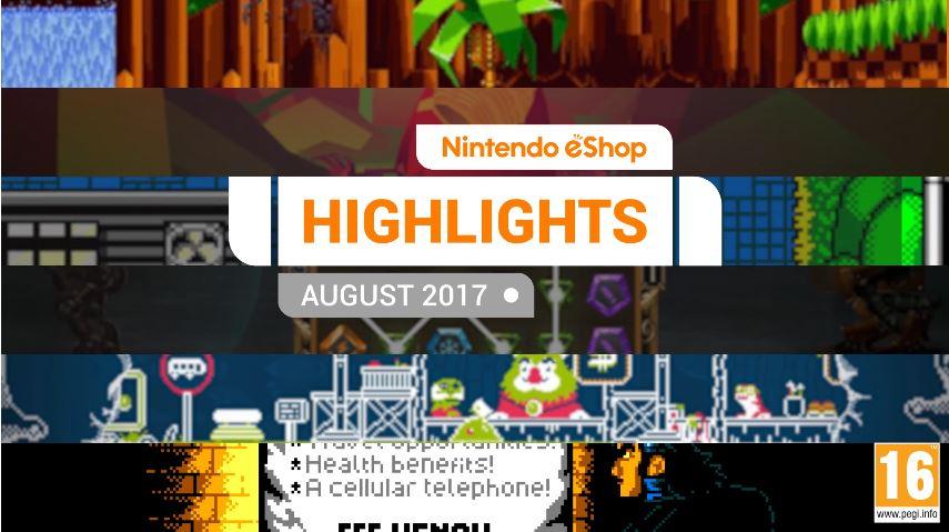 『Nintendo eShopハイライト 2017年8月』がNintendo UKから公開