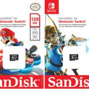 米任天堂とウエスタンデジタルの提携が発表!Switch向けの「SanDiskメモリカード」が発売決定