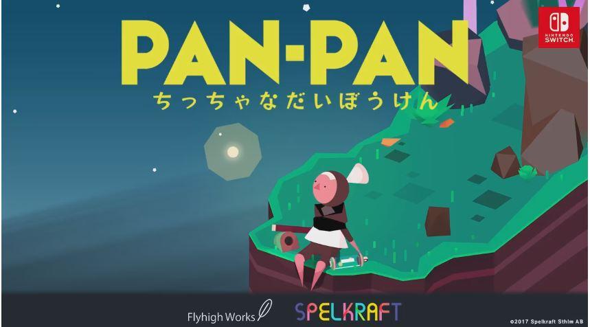 Nintendo Switch用ソフト『PAN-PAN~ちっちゃな大冒険~』が2017年9月14日から配信開始!